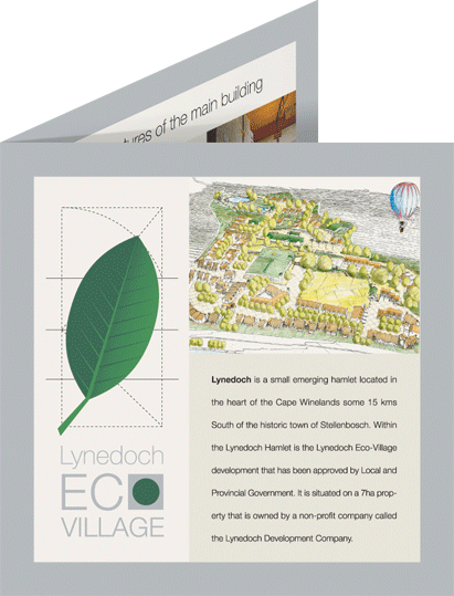 Example of brochure design